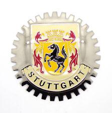 Vintage Classic Car Accessory Stuttgart Cog Grill Badge Porsche 356 911 VW