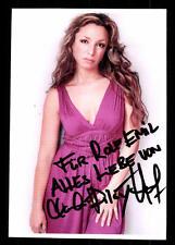 Claudia Dilay Hauf Autogrammkarte Original Signiert # BC 44787