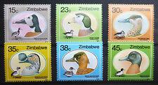 ZIMBABWE 1988 GEESE SG740-5 U/M NEW LOWER PRICE FP2968