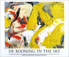 Willem de Kooning In The Sky Abstract Expressionism 1982 Exhibition Poster