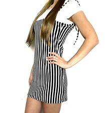 Damen Kleid Sommerkleid Minikleid 2 teiliges T-Shirt und Kurzkleid ITALY