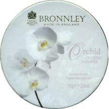 Bronnley Orchid fragancias de polvo de polvoreda 75g