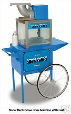 SNOW BANK  SNO  CONE MACHINE MAKER & CART by BENCHMARK