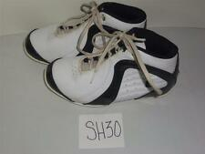 Boys AND1 Rocket 2.0 Mid Basketball Shoes Size 4 Black White -0313SH30T11
