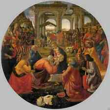 Ghirlandaio Domenico Adoration Of The Magi 1487 stampa in A4