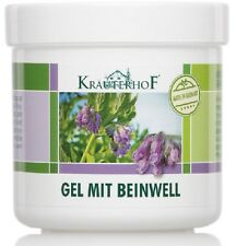 Healing Gel with Comfrey Pain Relief, Pulled Muscles Tendons Sprains Rheumatism