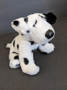 "Lil Kinz Webkinz Ganz DALMATION DOG HS123 Plush Stuffed Animal/Bean Retired 7"""