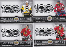 2017-18 Tim Horton's Top 100 Checklist 7 card set