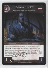 2008 VS System Marvel Universe Booster Pack Base #MUN-234 Professor X Card 3v2