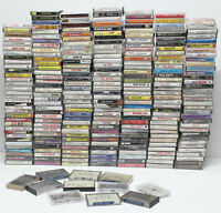 Vintage Country Music Audio Cassette Tape Lot Of 246 Store Bought Tapes Original
