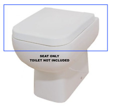Rak Series 600 Soft Close Toilet Seat - Fitting / Bolts All Included  - FREEPOST
