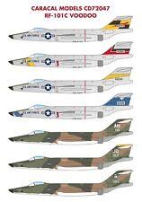 Caracal 1/72 McDonnell RF-101C Voodoo # 72047