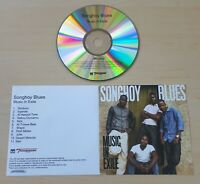 SONGHOY BLUES Music In Exile 2014 UK numbered 11-track promo test CD