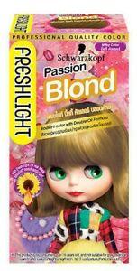 Schwarzkopf Fresh Light Freshlight Foam Hair Color # Passion Blond