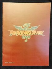 """""""DRAGONSLAYER"""" must be killed by a Young Wizarding Apprentice  - Movie Program"""