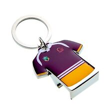 33952 BRISBANE BRONCOS NRL TEAM JERSEY BOTTLE OPENER KEY RING KEYRING CHAIN