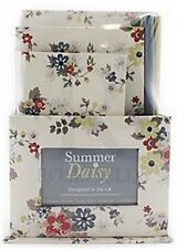 Summer Daisy Floral Stationary Gift Set Pencils Notebook Address by Leonardo