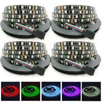 PCB Black 20M SMD 5050 RGB/White 300 LEDs Waterproof Flexible LED Strip Light 5M