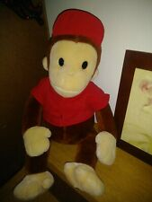 "Curious George Brown 20"" Plush Animal Toy"