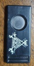 Vintage Cigar Cutter Monte Cristo Sheffield Steel Blade