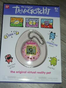The Original Tamagotchi Gen 2 Virtual PINK Srinkled Dounut looking FREE SHIPPING