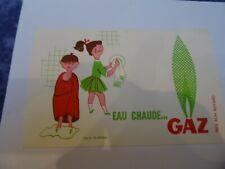 BUVARD PUBLICITAIRE. CHAUFFAGE GAZ -   années 1950