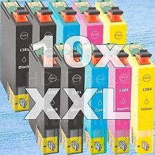 10 cartuchos tinta Non-Oem XL para Epson Stylus sx420w sx425w sx435w