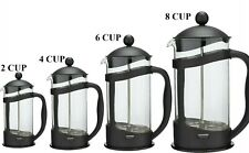 Coffee Maker Home 3 / 4 / 8 Cafetiere Plunger French Press Black Tea Americano