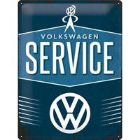 Blechschild VW Service Volkswagen,Nostalgie Schild 40 cm ,NEU,metal shield