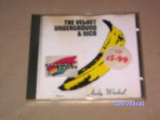 THE VELVET UNDERGROUND & NICO - ANDYWARHOL - CD ALBUM - GERMAN - VERVE LABEL.