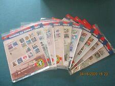 Celebrate 1990s Complete 10 Sheet Set USPS Stamps Sealed Mint $48.90 Valve