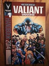 "Valiant Universe Handbook 2014 FCBD ""1st Printing"""