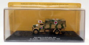 Altaya 1/72 Scale A3520A - Opel Blitz Kfz. 305 Medics Truck - Tunisia 1943