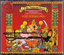 Yuri TEMIRKANOV Signed TCHAIKOVSKY The Nutcracker 2CD Nussknacker Eugene Onegin