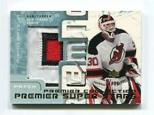 2003-04 UD Premier Collection Super Stars Patches #SSMB Martin Brodeur 14/25