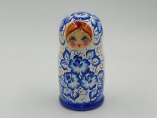 Matryoshka Nesting Dolls Russian Wood Toy Folk Art 5 pieces Great gift