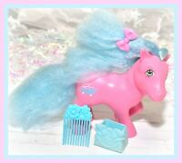 ❤️My Little Pony MLP G1 Vtg SWEET SUDS Pink Perfume Puff Pony Flower PICK Comb❤️