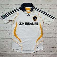 Adidas LA Galaxy Davis Beckham 23 Youth Small Soccer Jersey Herbalife MLS