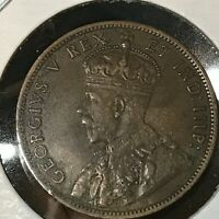 1911 CANADA ONE CENT BETTER GRADE LARGE PENNY COIN