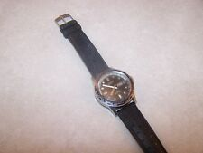 Vintage Caravelle Swiss Automatic Super Waterproof World Bezel Divers Watch