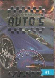 Mini Boekje C1000 nr.01 Dingen die je niet weet over - Auto's