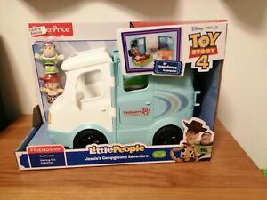 Fisher-Price Little People - Disney Toy Story 4 RV Jessie's Campground *NEW*buzz