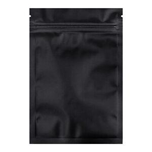 100 Pack Metallic Mylar Bags Resealable Zip Lock Bags Coffee Tea Pouch 4x6 inch