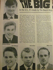 The Beach Boys, Full Page Vintage Clipping