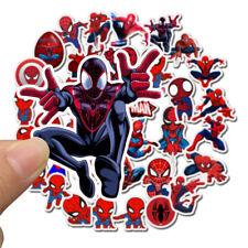 Cartoon Super Hero Spiderman Sticker for Laptop Luggage Skateboard Sticker Decor