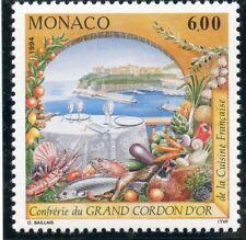 TIMBRE DE MONACO N° 1934 ** CONFRERIE CULINAIRE DU GRAND CORDON D'OR