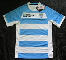 ARGENTINA RUGBY LOS PUMAS Home Jersey shirt NIKE World Cup 2011 NEW adult SIZE S