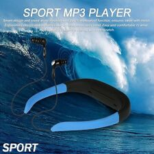 Swim Diving FM Radio Earphone headset Underwater MP3 Player Sport Waterproof 8GB