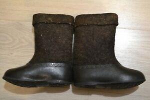 children's felt boots russian