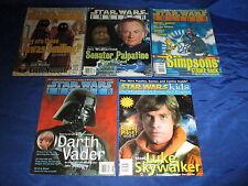 Star Wars Insider (1994) #36 37 38 39 & Star Wars Kids Preview Magazine Avg Vg